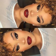 """909 Likes, 33 Comments - Jasmine Jeffry (@jassmich) on Instagram: """"Valentine's Glam 💋❤️ Lots of new looks coming soon ✨✨ #makeuplooks #makeupaddict #fiercesociety…"""""""
