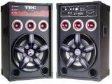 Caixa de Som Amplificada TRC com Bluetooth 500W - Entrada USB/SD - Radio FM e Microfones Inclusos