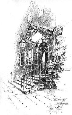 Herbert Railton, Pen and ink