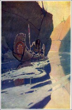 N. C. Wyeth; father of andrew wyeth