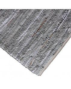 Vloerkleed Urban Grey-Silver metallic 170x240