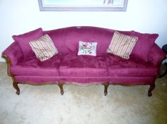 Beautiful couch for sale by Crown City Antiques and Estate Sales near La Crescenta, Montrose, La Canada, Pasadena and Glendale