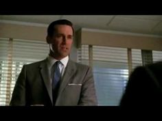 """American drama TV series """"Mad Men"""" (2007) captures a male perspective of business/advertising dynamics. The main focus is in the analysis of the character Don Draper and his influence in the workplace. The trailer displays aspects of the cult of domesticity at play through the distinction of male dominance in the public sphere. We grasp a sense of how the public sphere (business, etc.) exists for white middle-class men and the domestic space is reserved for their female counterparts…"""