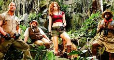 Why Karen Gillan Is Wearing That Skimpy Costume in Jumanji 2 -- There's a reason why Karen Gillan is wearing that short, skin-tight outfit in Jumanji: Welcome to the Jungle, and it has everything to do with the story's main plot. -- http://movieweb.com/jumanji-welcome-to-jungle-why-karen-gillan-sexy-costume/