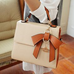 Commuter Bow Handbag by Socishopify
