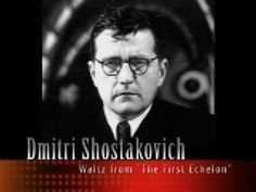 "<3 Waltz from ""The First Echelon"", Shostakovich - Music -» http://www.youtube.com/watch?v=DdYvkwu8ijc&feature=related"