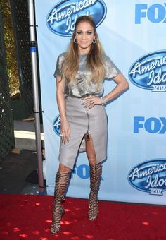 Jennifer Lopez on American Idol ... Season 14