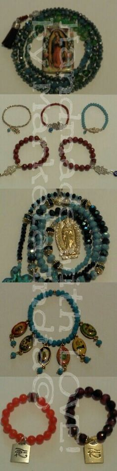 Handmade with LOVE by Marketa India© breathless Czech Glass Fashion  Rosaries and brazelets.