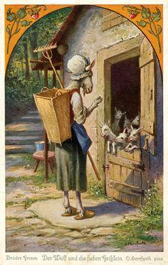 http://commons.wikimedia.org/wiki/Postcard_Illustrations_by_Oskar_Herrfurth