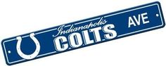 NFL Indianapolis Colts Plastic Street Sign ** Continue to the product at the image link.