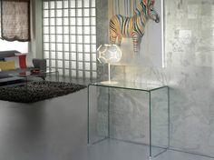 Consola Glass Transparente en Ámbar-Muebles.com, tu tienda de muebles online.