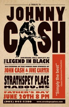 Johnny Cash - Classic - Band Wall Poster - 24 in x 14 in ( Fast Shipping ) Musikfestival Poster, Poster Retro, Vintage Concert Posters, Vintage Posters, Poster Layout, Poster Ideas, Tour Posters, Band Posters, Event Posters