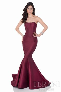 Terani Luxurious Two Piece Evening Gown