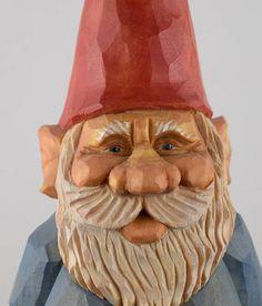 gnome elf nisse lutin Christmas Santa wood carving