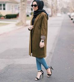 Style Hijab Avec Jeans9