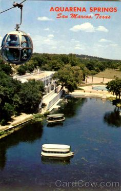 old Aquarena Springs, San Marcos Texas