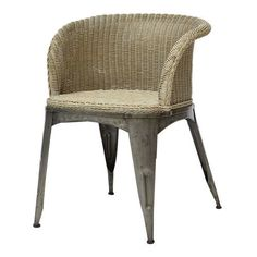 Wicker Arm Chair from Lillian August - Furnishings   Design