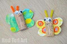 Welcome back to more crafty fun! Today, we have an adorable little cork craft…