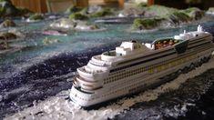 Modellismo per Quadri Diorama Crociera  Caraibi 1