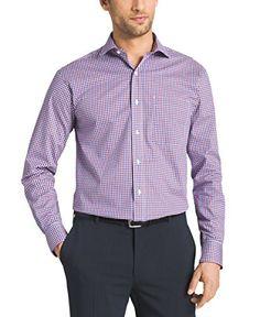 Tommy Hilfiger Mens Non Iron Regular Fit Check Spread Collar Dress Shirt  #shirts #dress #mensshirt #clothing #fashion #formalshirt