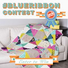 Win the free Craftsy class of your choice and blue-ribbon bragging rights! Share your prized project, and you could be the winner of the Craftsy #BlueRibbon Contest. Check it out here!