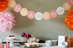 Bloesem Kids | Printable Parties from Two Pooch Paperie