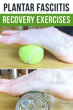Plantar Fasciitis best exercises for recovery and how to run with foot pain
