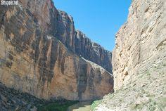 Santa Elena Canyon, Big Bend National Park, Texas. Photography by Tim Speer