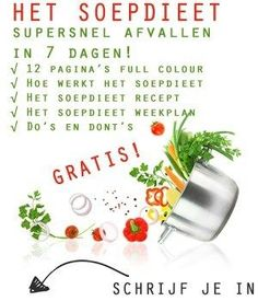 7 dagen dieet weekplan - Soepdieet Atkins Diet, Smoothies, Good Food, Healthy Recipes, Healthy Food, Drinks, Eat, Life Hacks, Turmeric