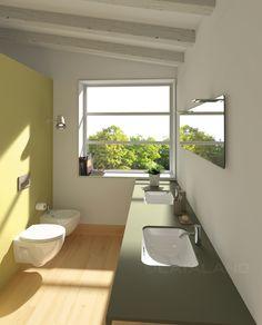 Sottopiano 55 x 38 New Light wc bidet 52 #catalano #baño