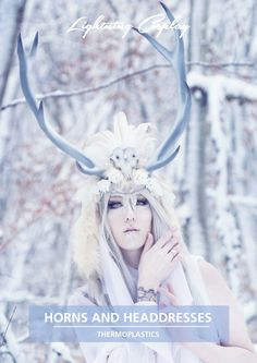 Horns and Headdresses   Printed   Lightning Cosplay (make sure you pick English version ;-) )