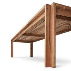 Designer and architect Jeppe Utzon is the creator of this self-conscious dining or meeting table, designed for Danish furniture company The massive table Furniture Projects, Table Furniture, Furniture Making, Furniture Makeover, Modern Furniture, Furniture Design, Wood Table Design, Dining Table Design, Woodworking Shop Layout