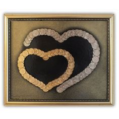 Homemade Wall Art Collage Penny Coin Coin Art Do It Yourself Crafts Button Art Metal Crafts Wedding Crafts Christmas Images Crafts To Sell, Diy And Crafts, Arts And Crafts, Handmade Birthday Gifts, Handmade Crafts, Homemade Wall Art, Coin Crafts, Pottery Painting Designs, Coin Art