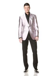REPIN 90% OFF Tom Ford Men\'s Formal Jacket (Purple)