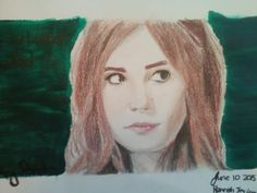 This is a drawing of Amy Pond that I, @HannahJackfield did! I actually think that it turned out pretty great!