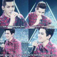 lol! kkaebsong, not my style
