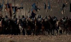 Em Montgisard o grande exército de Saladino foi destruído, vítima de poucas centenas de cavaleiros.