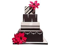Wedding Cake Designs ~brown