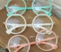 Imagen de glasses, pink, and vintage