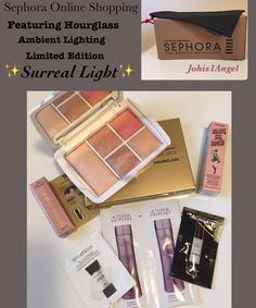 Hourglass limited edition palette 💖 It's finally at samples Smash Box Primer, Shampoo And Conditioner, Hourglass, Surrealism, Sephora, Tips, Beauty, Beauty Illustration