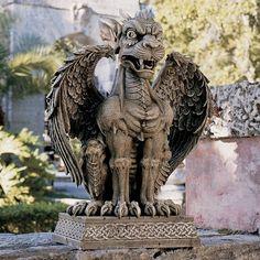 Design Toscano Boden Gargoyle Sentinel Statue