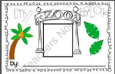 My Zoo Book FREEBIE from Sweet Times in First Shop on TeachersNotebook.com -  (7 pages)