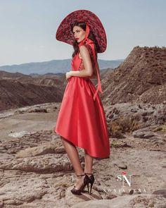 Vestidos de Fiesta, Vestidos de madrina, Vestidos para boda, Vestidos de Coctel 2017. Colección Primavera Verano Completa 2017 Scarlett. Sonia Peña - Ref. 1170054