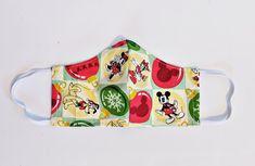 Disney Christmas Holiday Mickey Minnie Inspired Fabric Face   Etsy Disney Christmas, Christmas Holidays, Sewing Studio, Handmade Christmas, Face Masks, Fans, Pocket, Inspired, Fabric