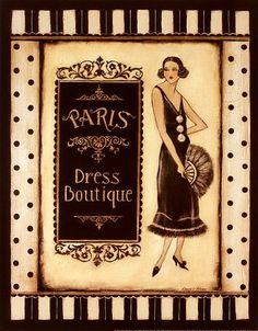 cartel vintage boutique - Buscar con Google