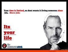 Awesome quote by Steve jobs | themostcrazy.com