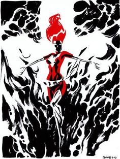 Dark Phoenix by Chris Samnee