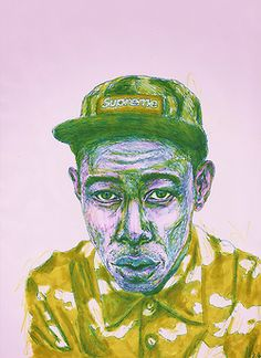 inspirewolf:    Tyler, the Creator by juliagidlow