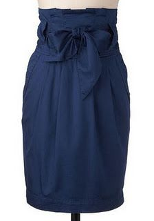 Paper bag skirt pattern