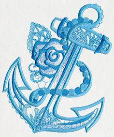Aquarius - Anchor design (UT11507) from UrbanThreads.com beautiful collection love this